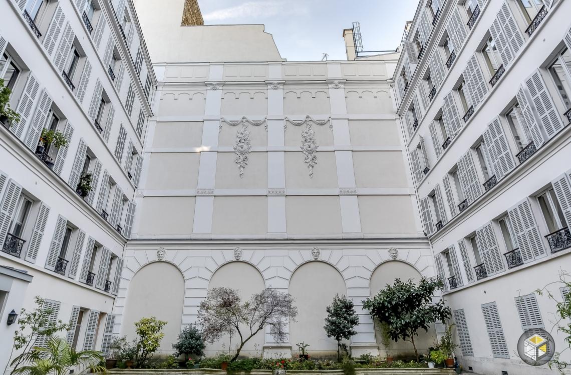 Cour intérieure immeuble