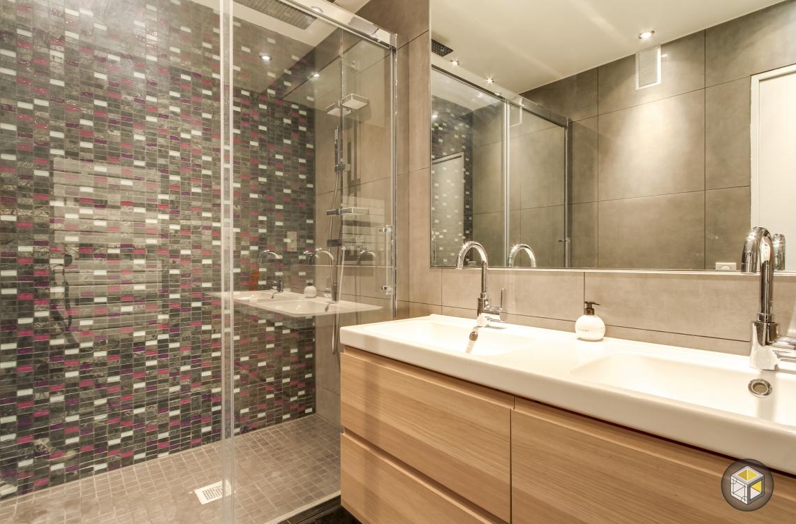 Am nagement et r novation d 39 un grand appart boulogne r - Douche appartement ...