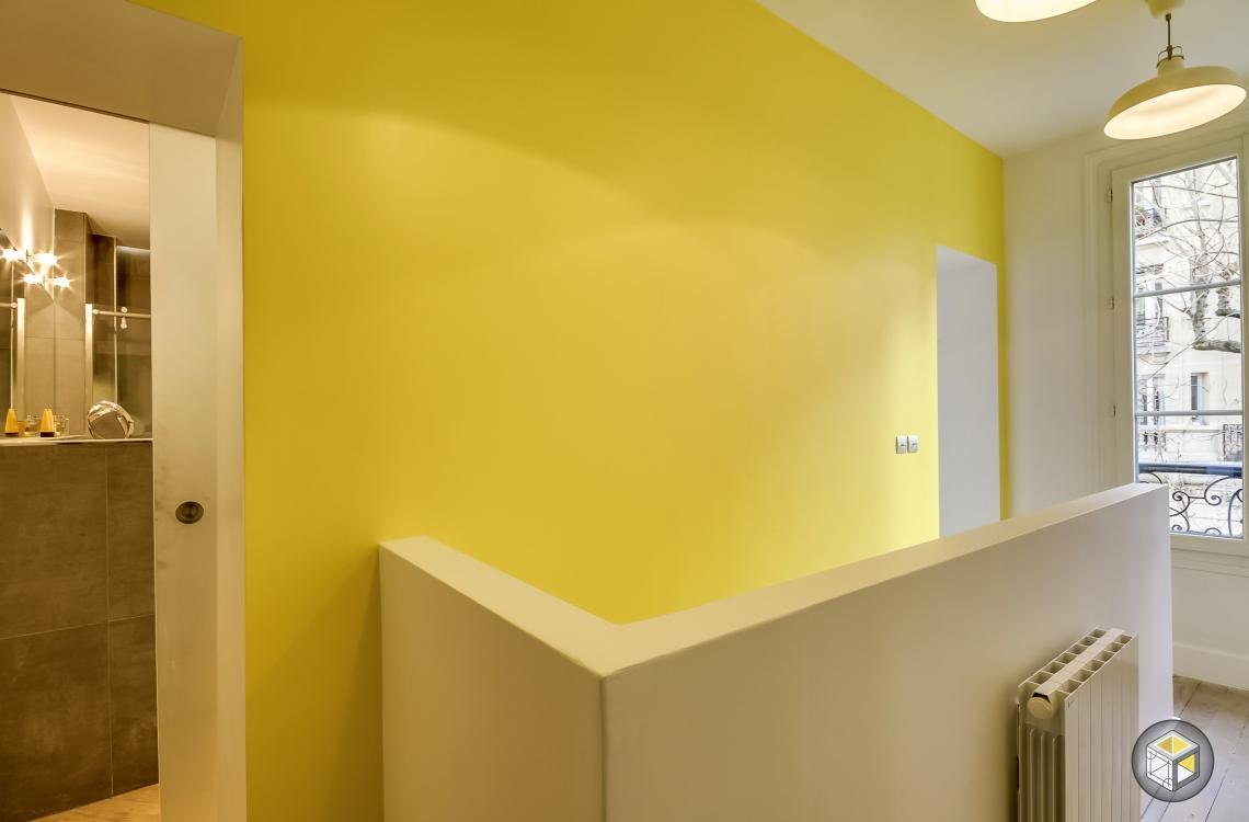 palier étage duplex