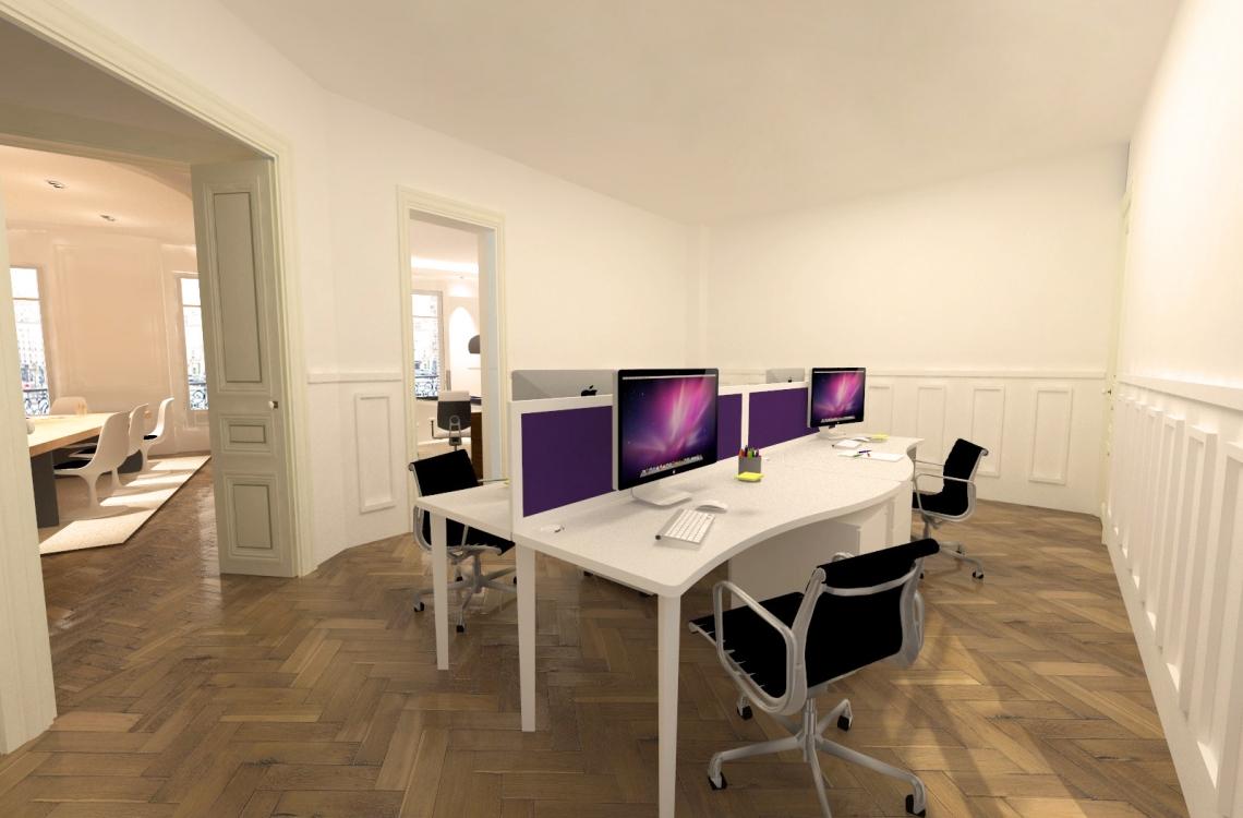 3d aménagement bureau