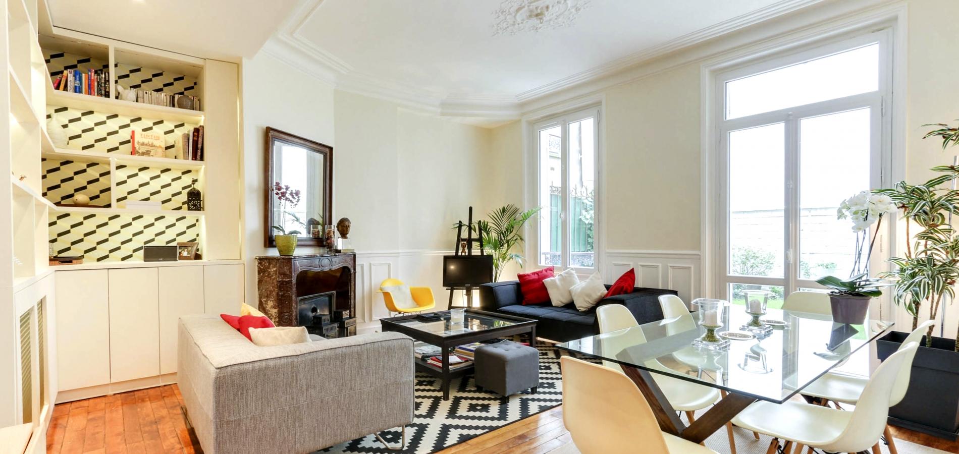 appartement décoration salon