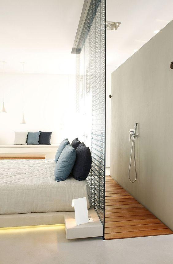 2 lassociation avec la tte de lit - Chambre Salle De Bain Ouverte